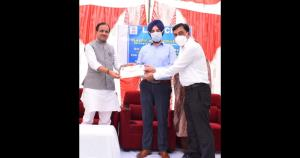 Union MoS Bhagwanth Khuba concludes two day Reasi...