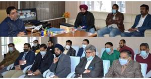 DDC Rajouri discusses implementation of District ...