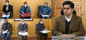 DDC Bandipora reviews hydraulic sector Capex Budg...