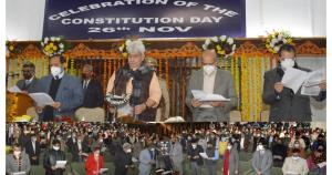 Lt Governor leads Constitution Day celebrations; ...