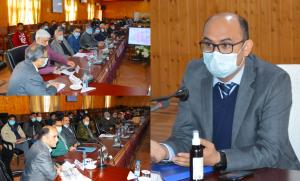 DC Baramulla chairs introductory/ review meeting,...
