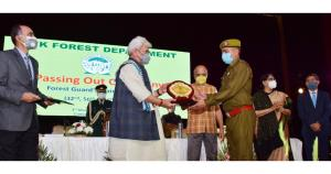 Lt Governor attends passing out ceremony of 32nd,...