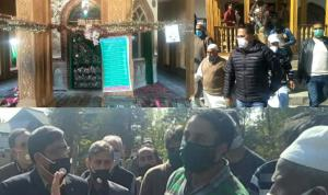 DC Anantnag visits shrines, oversees Eid e Milad ...
