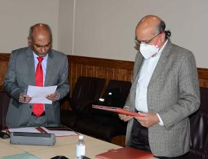 Jha takes oath as Chairman, SWRRA