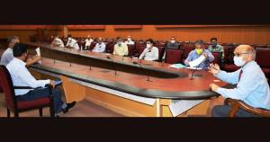 Advisor Sharma holds public hearing at Jammu