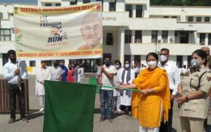 DC Reasi flags off Fit India Freedom Run