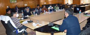 DLAC meet on FSSA held at Budgam