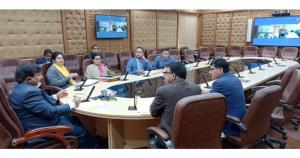 Dheeraj Gupta reviews implementation of transfer ...