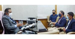 Delegation of FICCI J&K calls on Advisor Baseer K...