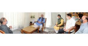 Former Deputy CM, Former Legislators call on Lt G...