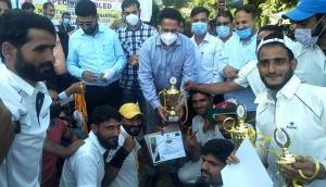 Javid Abidi memorial cricket tournament held at A...