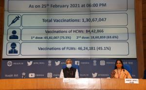 Over 1.30 cr COVID-19 vaccine doses administered ...