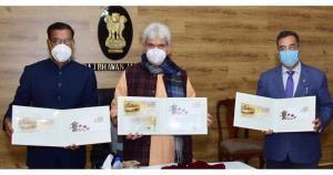 Lt Governor releases Special Covers on Kangri & K...