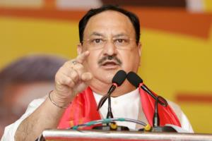 Nadda calls it historic after BJP wins majority 1...