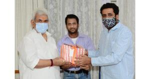 Film Producer Shiv Sagar calls on Lt Governor