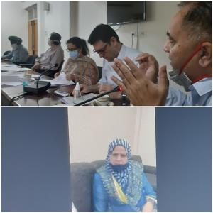 JKPCB Chairman reviews COVID-19 Waste Management