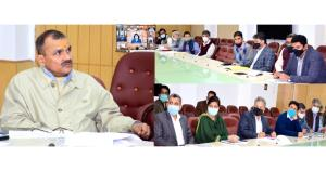 Principal Secretary to LG holds weekly meeting to...