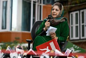 Three PDP leaders resign over Mehbooba Mufti's fl...
