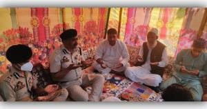 DGP visits house of martyr PSI Arshid