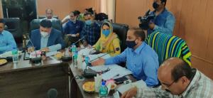 DG Horticulture holds meeting with J&K ABDK membe...