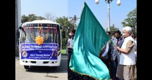 Lt Governor launches online services of Motor Veh...