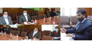 Chief Secretary reviews PMDP projects in Jammu an...