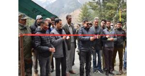 Four habitations of Kishtwar District connected w...