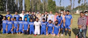 DC Baramulla inaugurates District Football League...