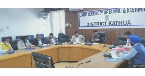 DC Kathua reviews implementation of FPO scheme at...