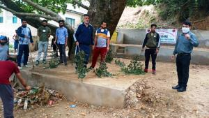 DYSS Kishtwar conducts cleanliness drive around n...