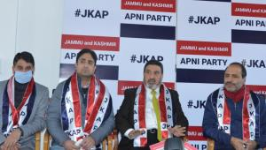 Srinagar Mayor Junaid Azim Mattu joins Apni Party