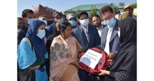 Union MoS Social Justice and Empowerment visits B...