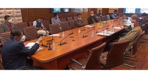 Advisor Bhatnagar reviews progress on implementat...