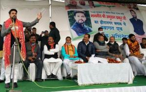 BJP believes in politics of ballot to strengthen ...