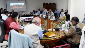 DDC Bandipora reviews winter preparedness, winter...