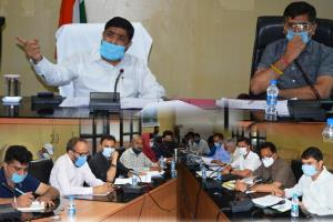DC Poonch reviews performance of RDD