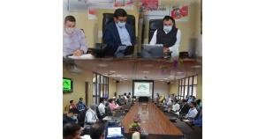 Dr Kotwal reviews progress on updation, digitizat...
