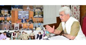 Lt Governor chairs weekly meetings of Covid Task ...
