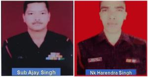 Bodies of two soldiers, who went missing during P...