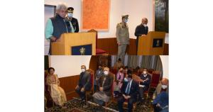 Lt Governor administers Oath to KK Sharma as Stat...