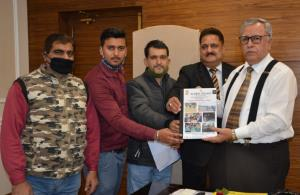 Vishwa Kashmiri Samaj delegation calls on Advisor...