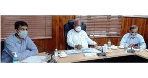 DDC Chairman Jammu discusses formulation of Distr...