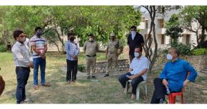 VC JU interacts with Hostel Boarders & Residents ...
