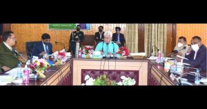 Lt Governor visits Baramulla; reviews Development...