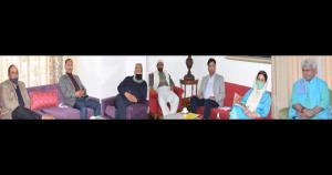 J&K Pahari Cultural & Welfare Forum calls on Lt G...