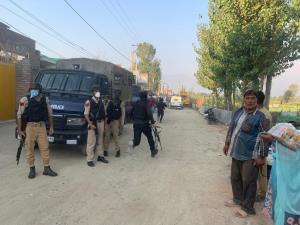 Terrorist attack on police team in Srinagar