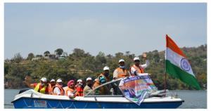 Tourism Department organises Boating at Mansar La...
