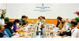 Dr Jitendra Singh reviews work disposal in Minist...